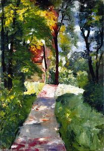 Lesser Ury - Morning Sun