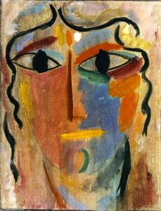 Alexej Georgewitsch Von Jawlensky - Mystical Head