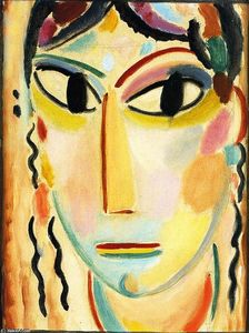 Alexej Georgewitsch Von Jawlensky - Mystical Head: Young Girl
