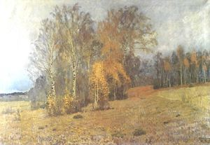 Isaak Ilyich Levitan - October