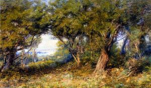 Frederick Mccubbin - Oliver's Nill, Frankston (also known as Summer Idyll)