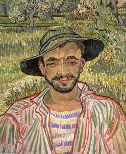 Vincent Van Gogh - Portrait of a Young Peasant