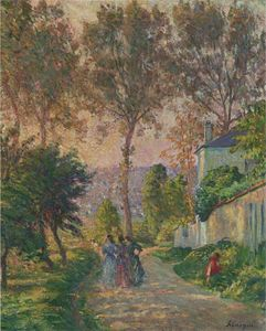 Henri Lebasque - The Promenade