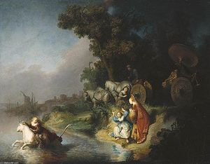 Rembrandt Van Rijn - The Rape of Europe
