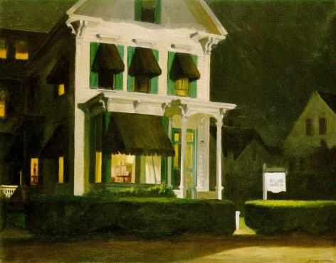 famous painting Rooms for Tourists of Edward Hopper