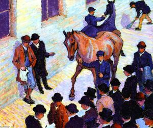 Robert Bevan - Sale at Tattersall's