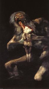 Francisco De Goya - Saturn