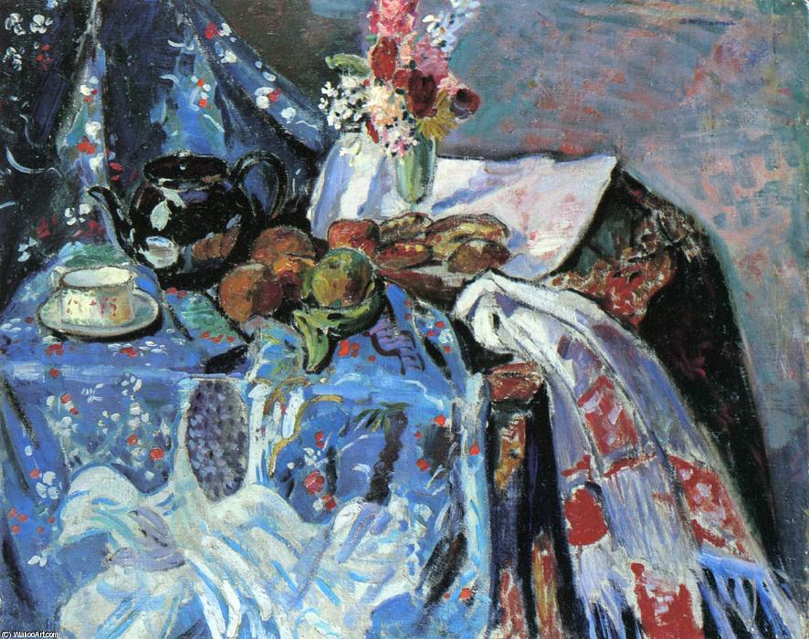 famous painting Still LIfe of Alfred Henry Maurer