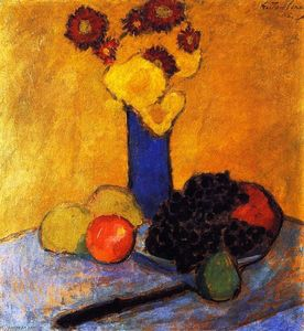 Alexej Georgewitsch Von Jawlensky - Still Life with Blue Vase