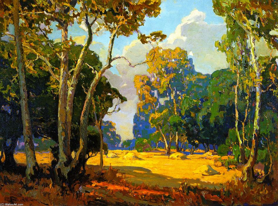 famous painting Summer Afternoon of Franz Bischoff