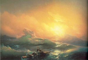 Ivan Aivazovsky - The Tenth Wave.