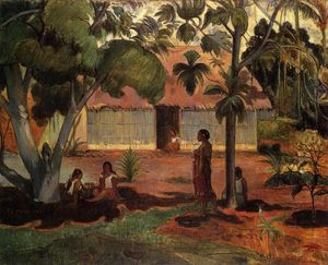 Paul Gauguin - Te Ra'au Rahi (also known as The Large Tree)