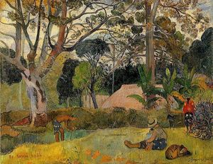 Paul Gauguin - Te raau rahi (also known as The Big Tree)