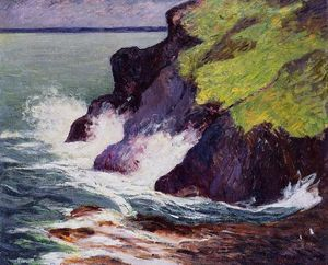 Maxime Emile Louis Maufra - The Three Cliffs