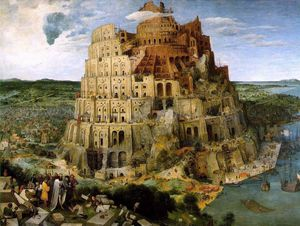 Pieter Bruegel The Elder - The Tower of Babel