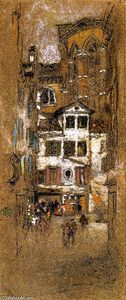 James Abbott Mcneill Whistler - Under the Frari