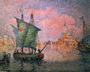 Paul Signac - Venice, The Pink Cloud
