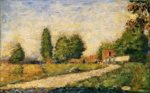 Georges Pierre Seurat - Village Road