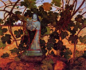 Ferdinand Du Puigaudeau - The Virgin with Fig Tree