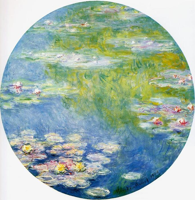 Order Art Reproductions | Water-Lilies by Claude Monet | AllPaintingsStore.com