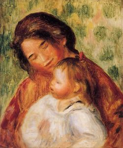 Pierre-Auguste Renoir - Woman and Child