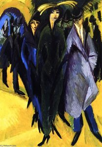 Ernst Ludwig Kirchner - Woman in the Street