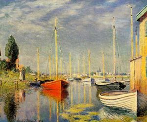 Claude Monet - Yachts at Argenteuil