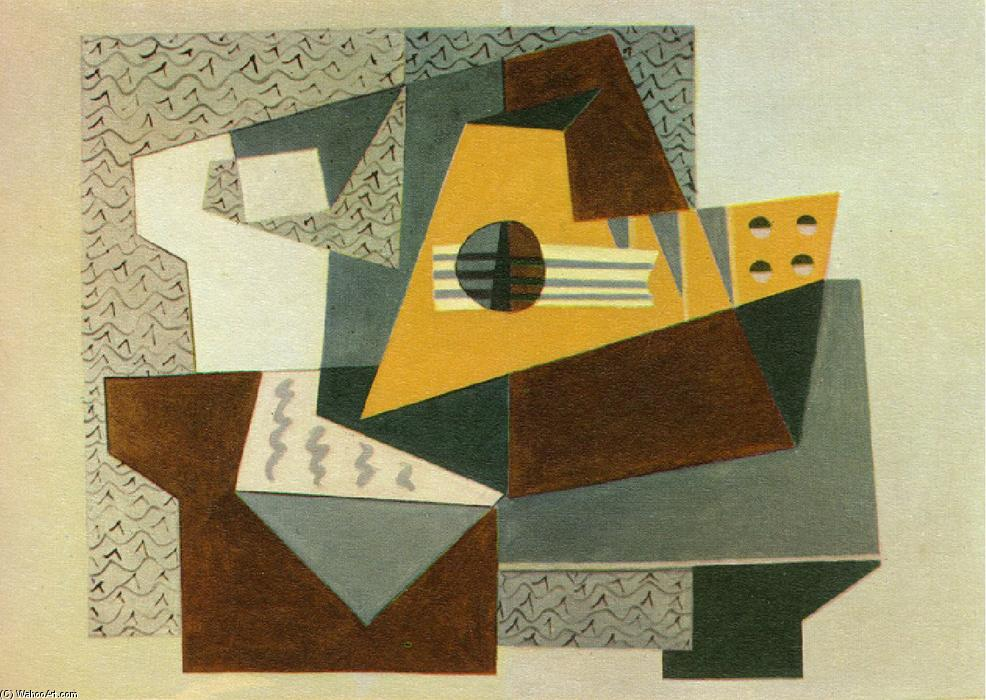 famous painting Guitar of Pablo Picasso