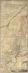 Thomas Jefferys - The Provinces Of New York