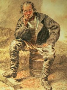William Henry Hunt - An Oysterman,