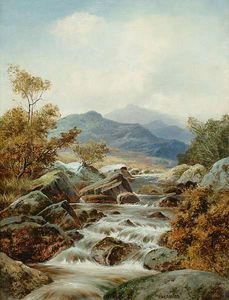 William Henry Mander - Highland River Landscapes