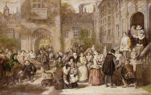 William Powell Frith - Coming Of Age In The Olden Time -