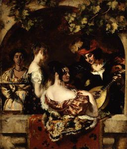 William Etty - The Lute Player