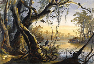 Karl Bodmer - Mouth Of Fox River