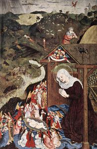 Master Of The Polling Panels - Adoration Of The Child