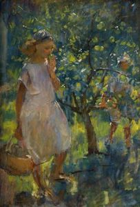 Henry Tonks - The Orchard