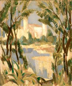 John Duncan Fergusson - La Mousque