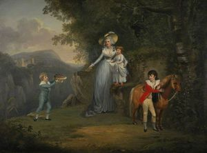 Alexander Nasmyth - Lady Honyman And Her Family