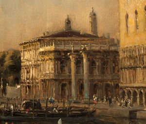 Antione Bouvard - View Of The Basin Of San Marco
