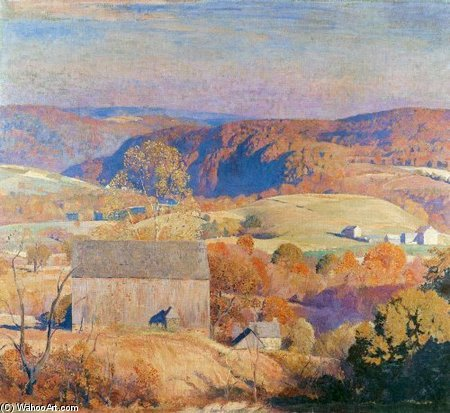 famous painting Lanscape of Daniel Garber