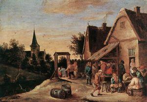 David Teniers The Elder - Village Feast