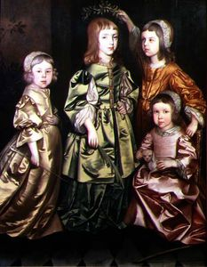 Gerard Soest - Group Portrait Of Four Children