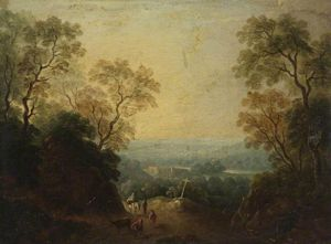 Thomas Barker - A View Of Longleat, Wiltshire