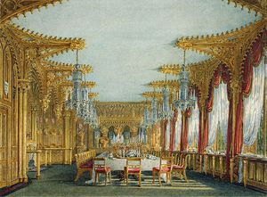 Charles Wild - Carlton House, Gothic Dining Room