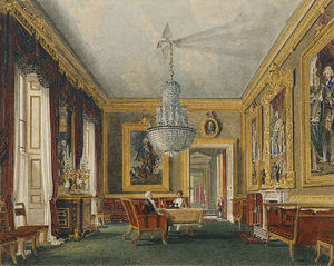 Charles Wild - Carlton House, West Ante-room