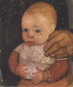 Paula Modersohn Becker - Infant With Mother's Hand