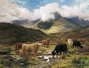 Louis Bosworth Hurt - Cattle In The Highlands