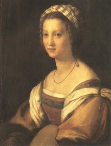 Andrea Del Sarto - Portrait of the Artists Wife