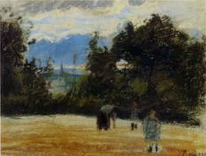 Camille Pissarro - the clearing.