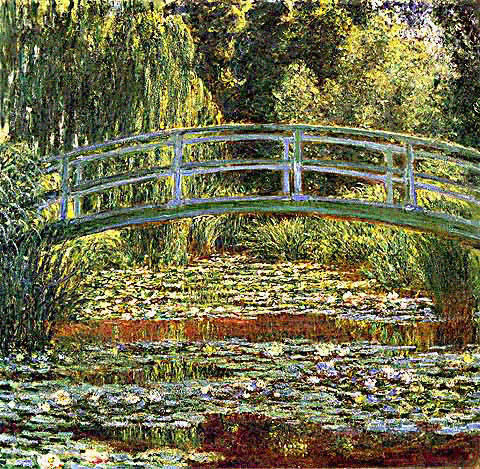 famous painting le bassin aux nympheas of Claude Monet